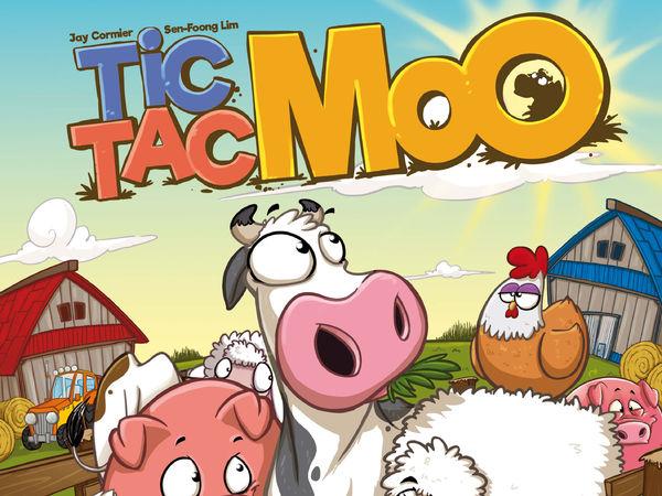 Bild zu Alle Brettspiele-Spiel Tic Tac Moo