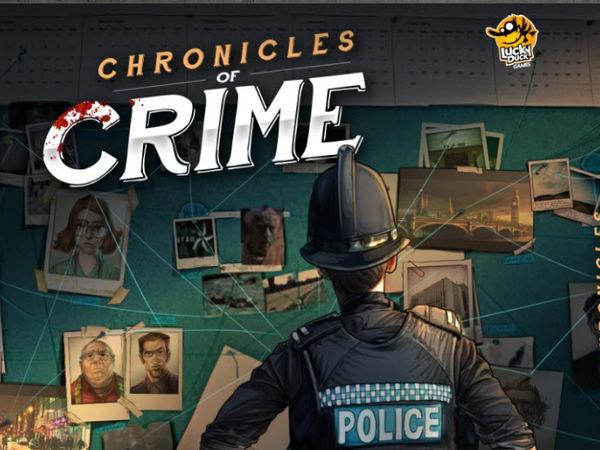 Bild zu Alle Brettspiele-Spiel Chronicles of Crime