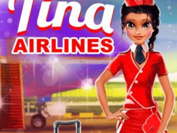 Bild zu Mädchen-Spiel Tina - Airlines