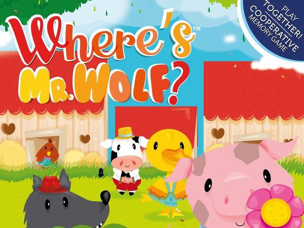 Bild zu Alle Brettspiele-Spiel Where's Mr. Wolf?