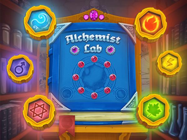 Bild zu Denken-Spiel Alchemist Lab