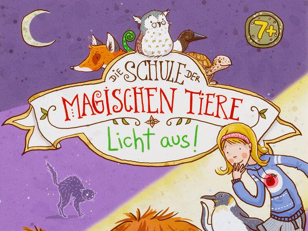 Bild zu Alle Brettspiele-Spiel Die Schule der magischen Tiere; Licht aus!
