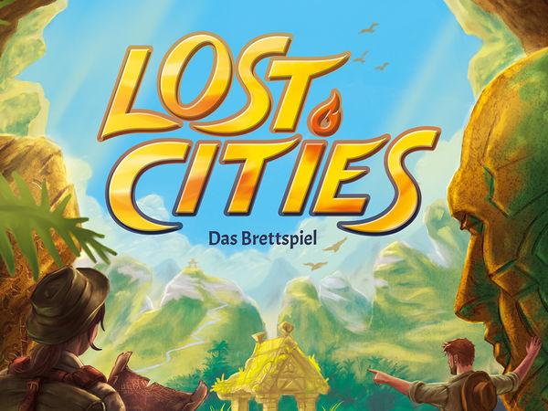Bild zu Alle Brettspiele-Spiel Lost Cities: Das Brettspiel