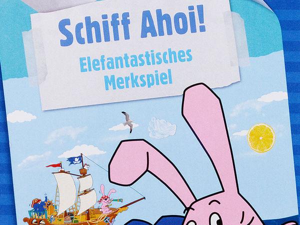 Bild zu Alle Brettspiele-Spiel Die Sendung mit dem Elefanten: Schiff Ahoi!