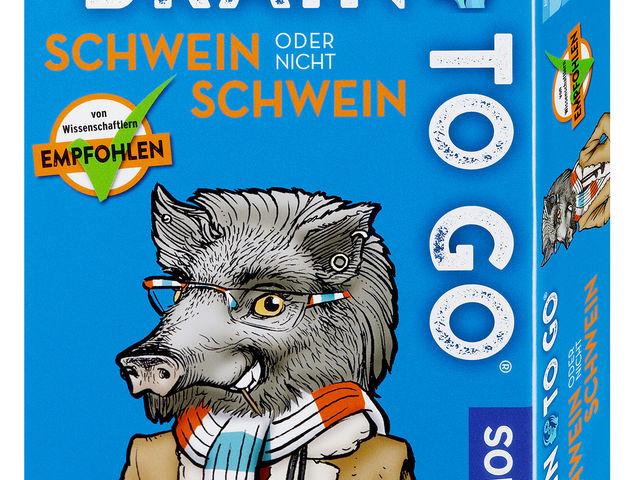 Brain to go: Schwein oder nicht Schwein Bild 1