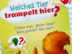 Welches Tier trampelt hier?