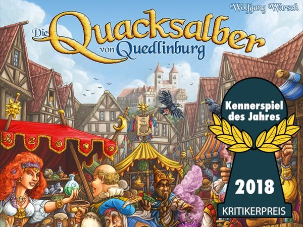 Bild zu Spiel des Jahres-Spiel Die Quacksalber von Quedlinburg