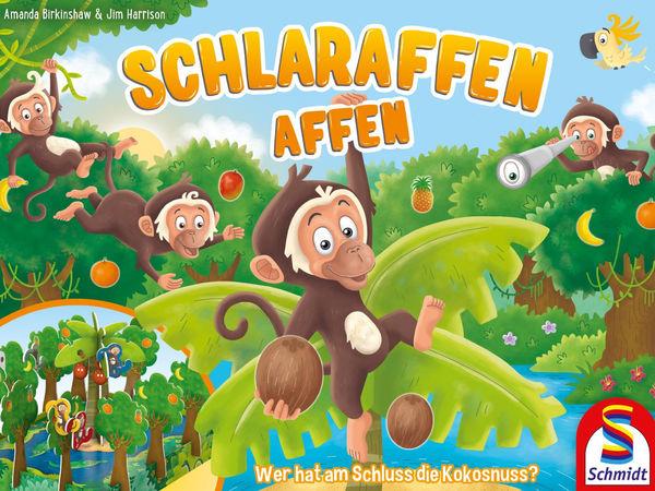 Bild zu Alle Brettspiele-Spiel Schlaraffen Affen