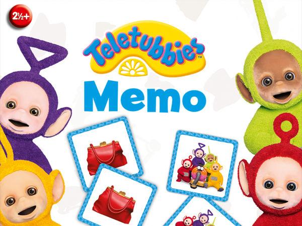 Bild zu Alle Brettspiele-Spiel Teletubbies Memo