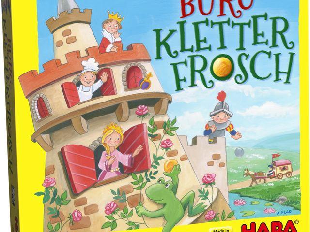 Burg Kletterfrosch Bild 1