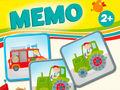 Vorschaubild zu Spiel Memo Fahrzeuge