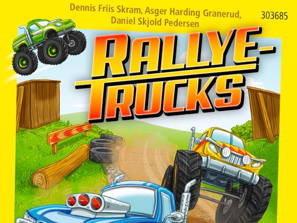 Bild zu Alle Brettspiele-Spiel Rallye-Trucks