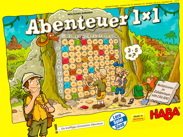Bild zu Alle Brettspiele-Spiel Abenteuer 1x1
