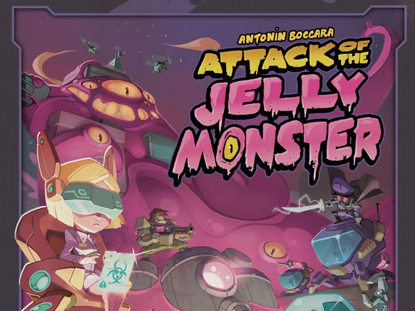 Bild zu Alle Brettspiele-Spiel Attack of the Jelly Monster