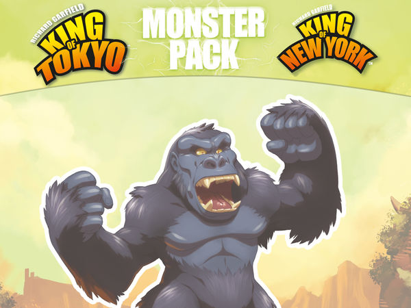 Bild zu Alle Brettspiele-Spiel King of Tokyo/New York: Monster Pack - King Kong