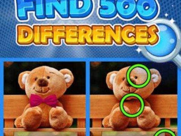 Bild zu Neu-Spiel Find 500 Differences