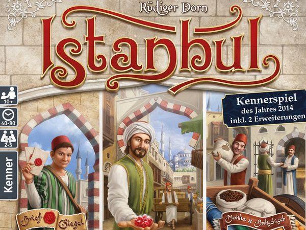 Bild zu Alle Brettspiele-Spiel Istanbul Big Box