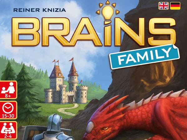 Bild zu Alle Brettspiele-Spiel Brains Family: Burgen & Drachen