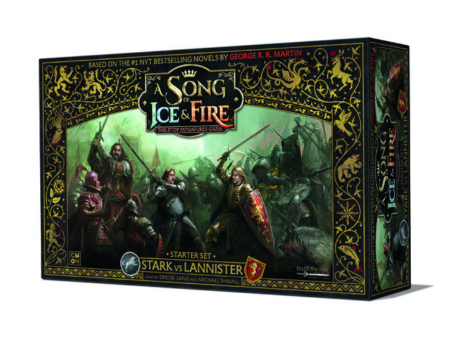 A Song of Ice & Fire: Tabletop Miniatures Game - Stark vs Lannister Starter Bild 1
