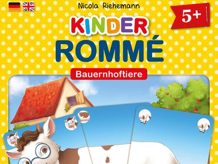 Kinder-Rommé: Bauernhoftiere