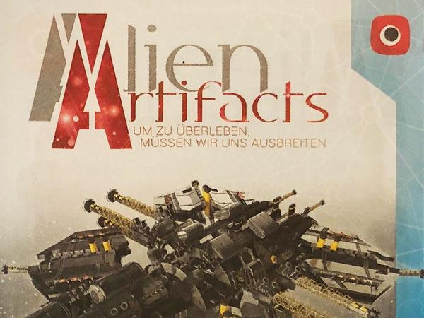 Bild zu Alle Brettspiele-Spiel Alien Artifacts: Die Entdeckung