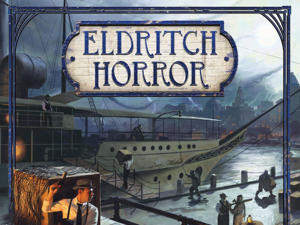 Bild zu Alle Brettspiele-Spiel Eldritch Horror: Masken des Nyarlathotep - Erweiterung