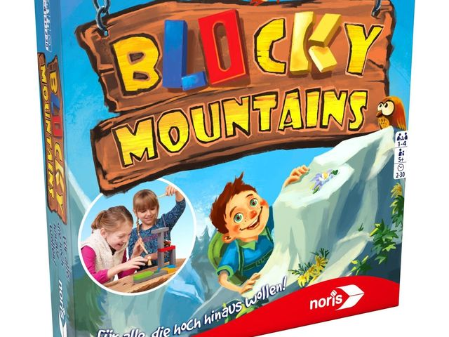 Blocky Mountains Bild 1