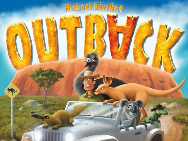 Bild zu Alle Brettspiele-Spiel Outback