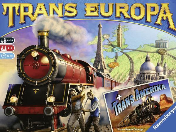 Bild zu Alle Brettspiele-Spiel Trans Europa & Trans America