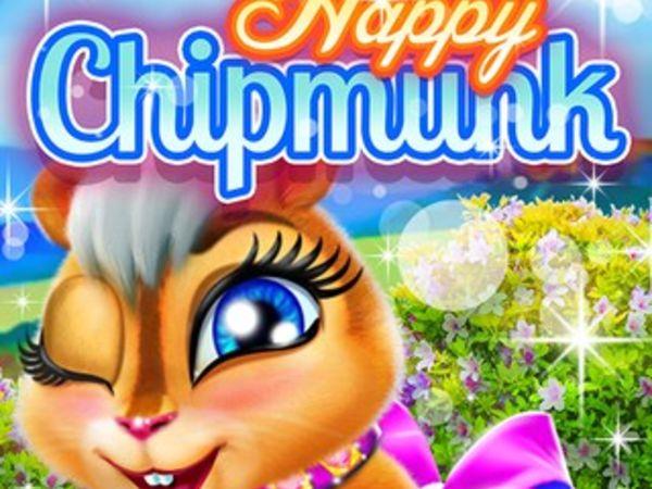 Bild zu Mädchen-Spiel Happy Chipmunk