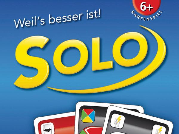 Bild zu Alle Brettspiele-Spiel Solo - Sonderedition