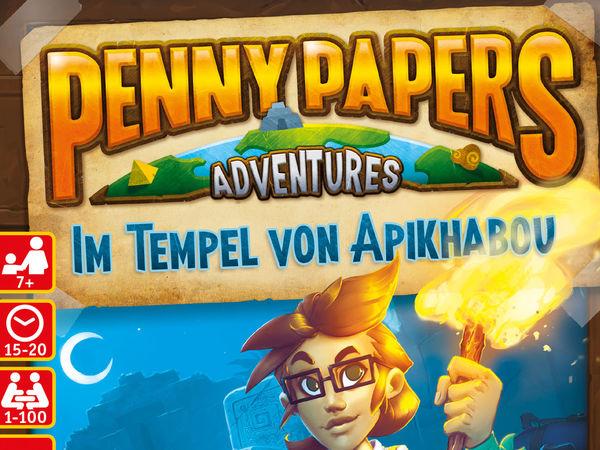 Bild zu Alle Brettspiele-Spiel Penny Papers Adventures: Im Tempel von Apikhabou
