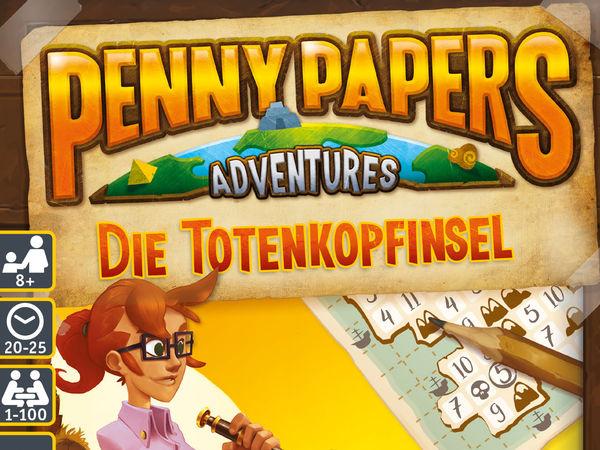 Bild zu Alle Brettspiele-Spiel Penny Papers Adventures: Die Totenkopfinsel