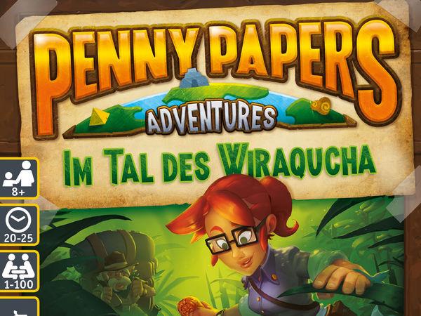 Bild zu Alle Brettspiele-Spiel Penny Papers Adventures: Im Tal des Wiraqucha