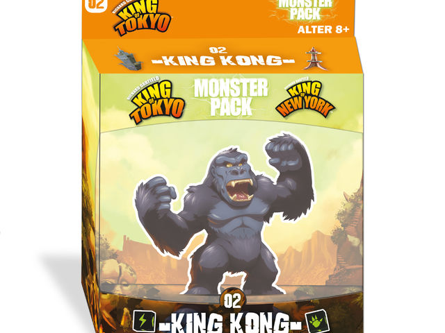 King of Tokyo/New York: Monster Pack - King Kong Bild 1