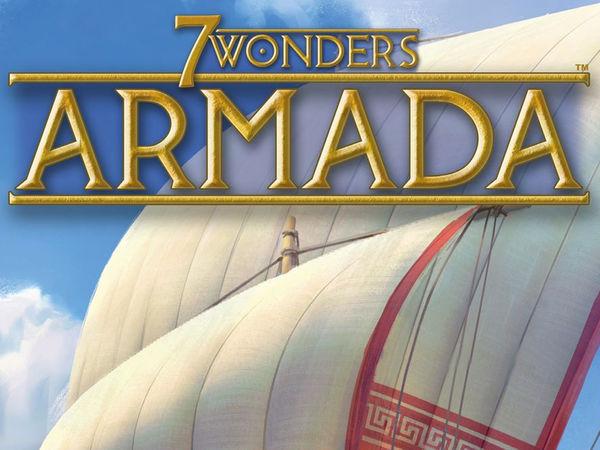 Bild zu Alle Brettspiele-Spiel 7 Wonders: Armada