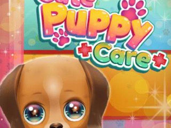 Bild zu Mädchen-Spiel Cute Puppy Care