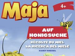 Maja auf Honigsuche