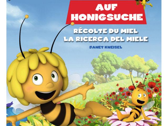 Maja auf Honigsuche Bild 1