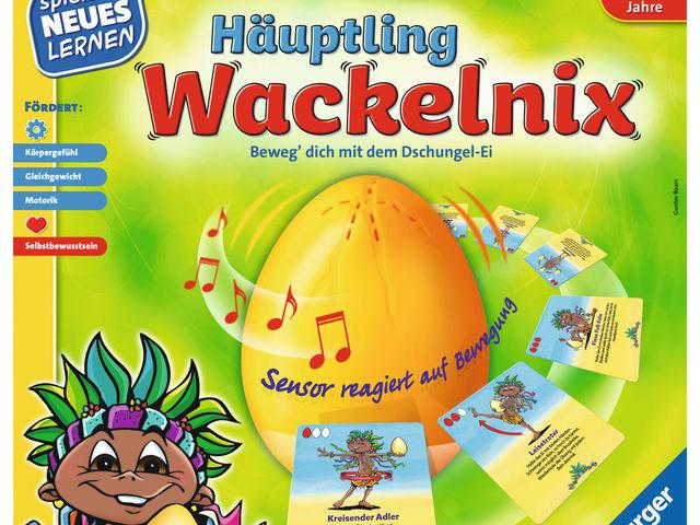Häuptling Wackelnix Bild 1