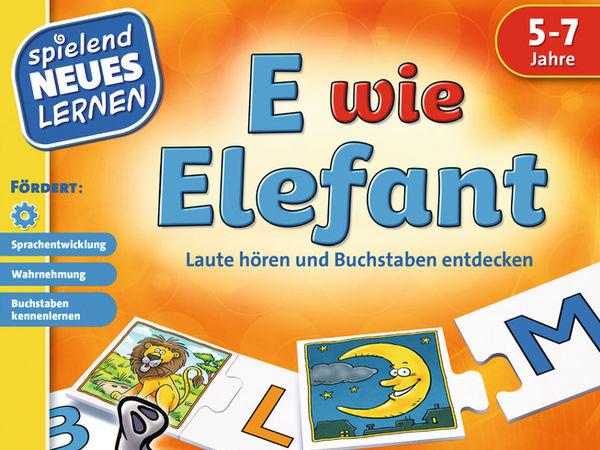 Bild zu Alle Brettspiele-Spiel E wie Elefant