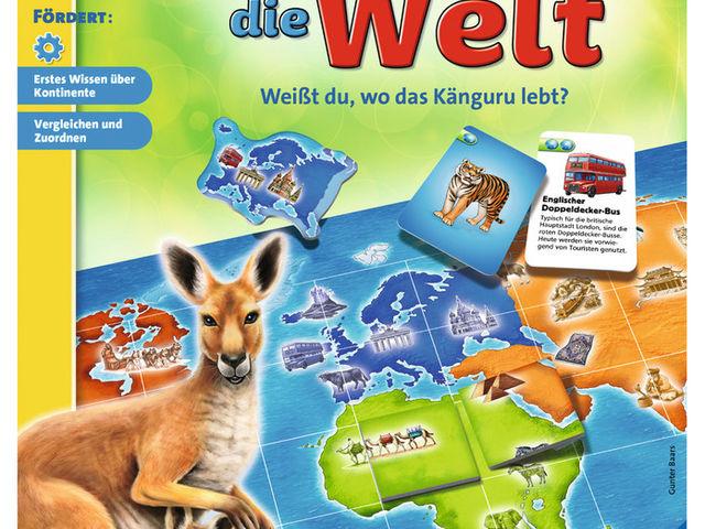 Ravensburger 249909 Entdecke die Welt