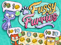 Denken-Spiel Fussy Furries spielen