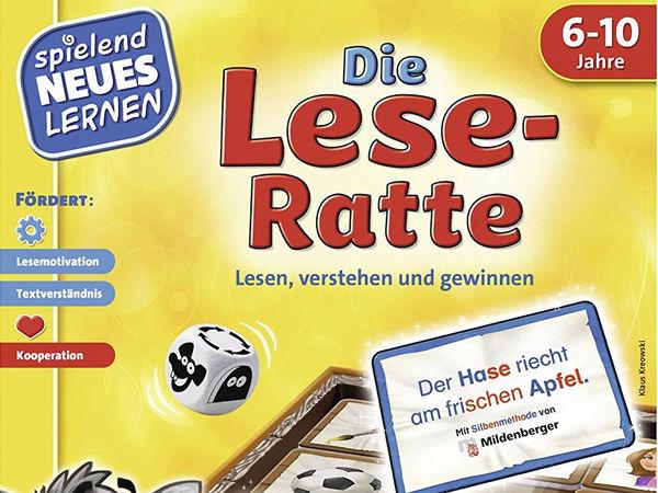Bild zu Alle Brettspiele-Spiel Die Lese-Ratte