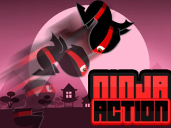 Bild zu Geschick-Spiel Ninja Action
