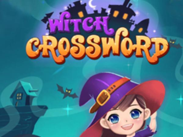 Bild zu Denken-Spiel Witch Crossword