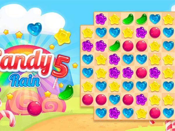 Bild zu Mädchen-Spiel Candy Rain 5