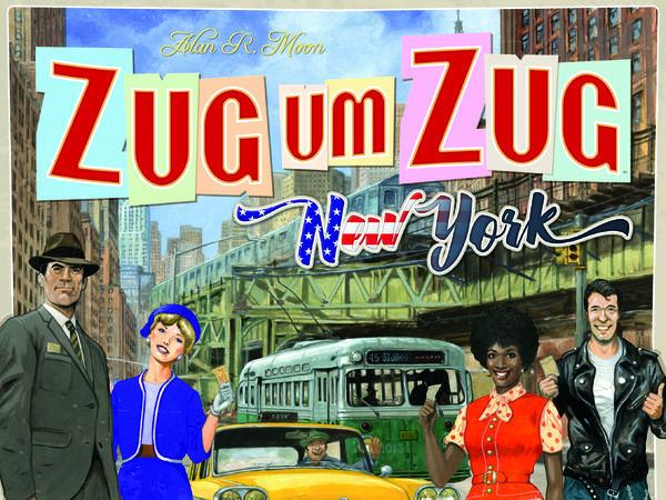 Bild zu Alle Brettspiele-Spiel Zug um Zug: New York