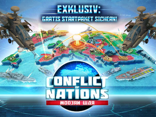 Bild zu Strategie-Spiel Conflict of Nations