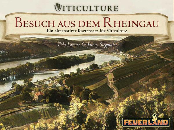 Bild zu Alle Brettspiele-Spiel Viticulture: Besuch aus dem Rheingau